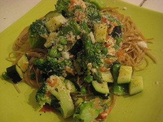 Classic Pasta Primavera - Ingredients * 1/2 pound angel hair pasta or ...