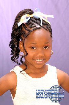 for girls natural kids hair style for my little