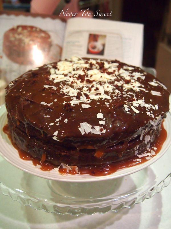 Salted Caramel-Chocolate Pudding Cake Recipes — Dishmaps