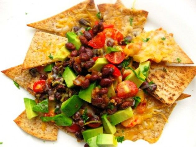Loaded Nachos Nutrition Info Calories: 312 Fat: 8g Carbs: 40g Protein ...