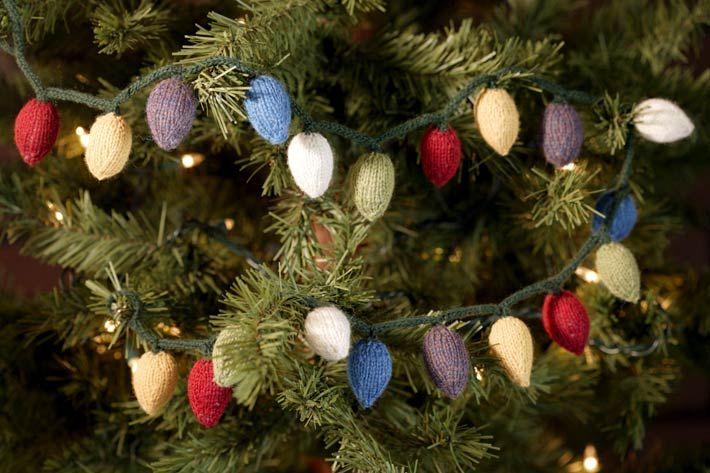 Christmas Decor Knitted Christmas Ornaments Amazing