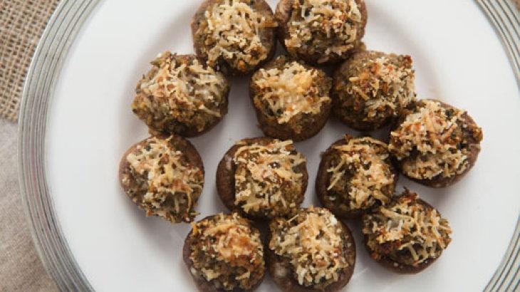 Classic Stuffed Mushrooms | Appetizers | Pinterest