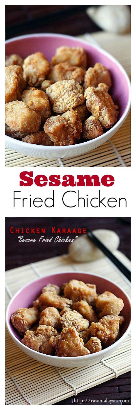Fried Chicken or Chicken Karaage - Japanese restaurant favorite fried ...
