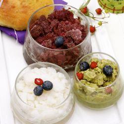 Sicilian Summer Breakfast: Tris di Granita con Brioche. Bronte ...