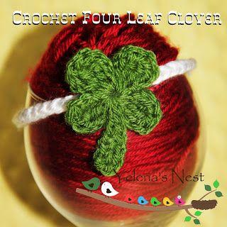 Ravelry: Crochet Four Leaf Clover pattern by Amy Lehman