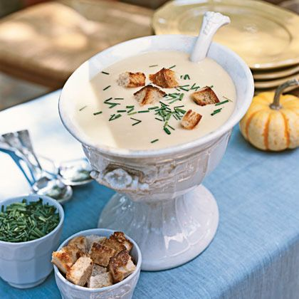 Beer-Cheddar Soup by Cooking Light | Soup, Stew, Chowder Recipes | Pi ...