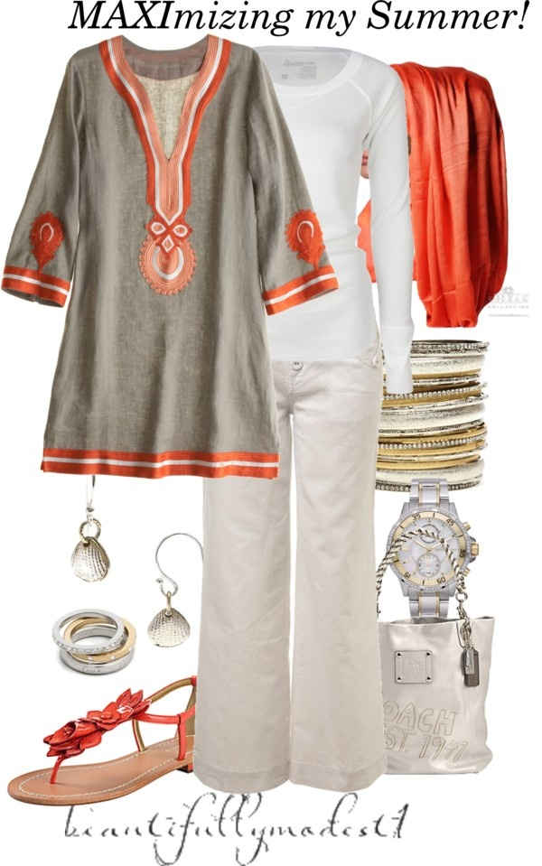 """Summer 2012!"" by beautifullymodest1 on Polyvore"