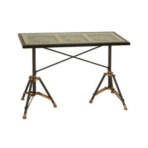 Woodland Imports Console Table Woodland Imports Movie Reel Console Table 265.33