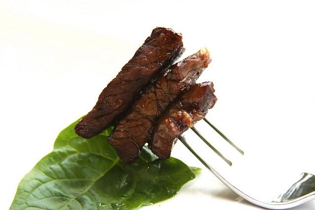 Diced Steak Marinated in Teriyaki Sauce & Lime