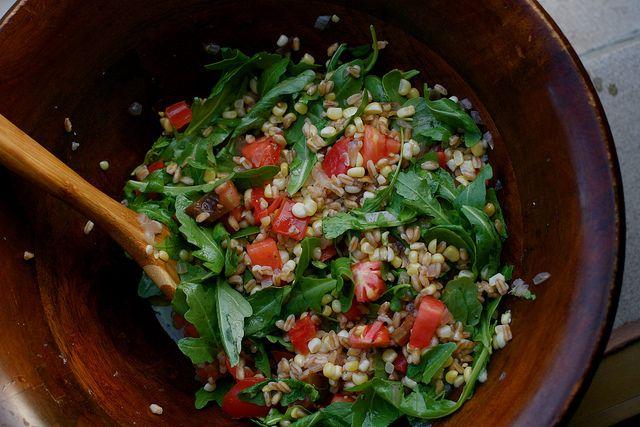 Summer Farro Salad by kristin :: thekitchensink, via Flickr