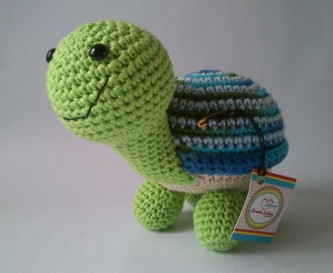 Amigurumi Tortuga Tutorial : Tortuga amigurumi crochet Pinterest