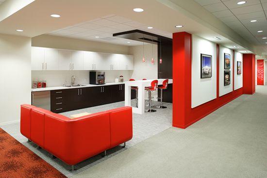 Amazing Office Interiors Industrial Look Office Interior Design