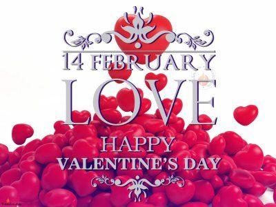 happy valentines day 3d
