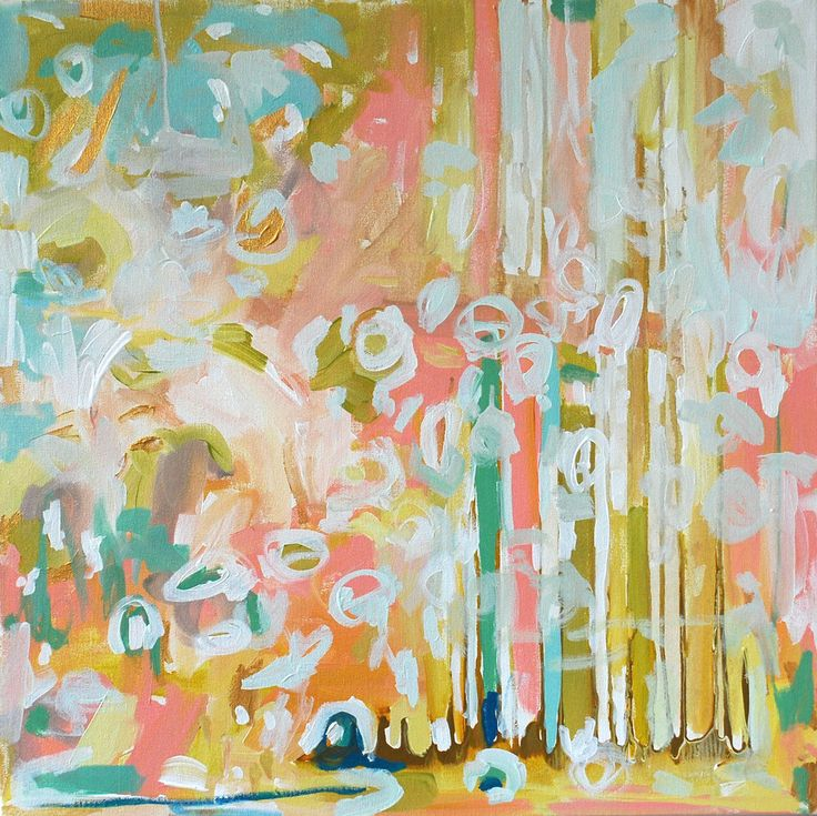 another of my favorite abstract painting from Michelle. I'm a huge fan of her work!