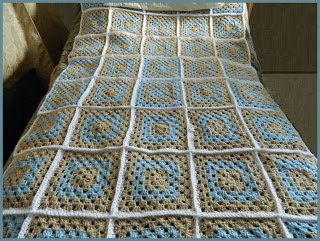 MODERN GRANNY CROCHET AFGHAN PATTERN | Free Crochet