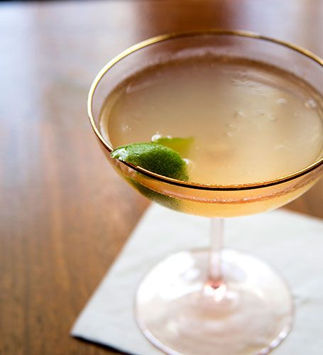 America's Original Morning Cocktail—the Corpse Reviver #2. # ...