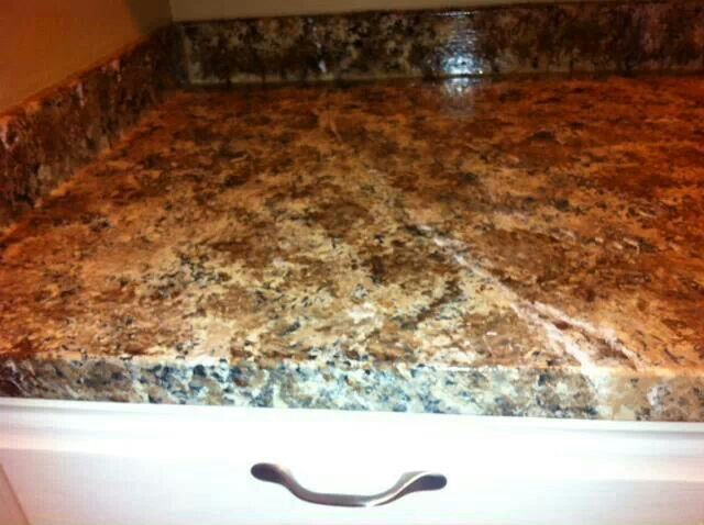 Countertop Paint Brown : More like this: countertop paint , chocolate brown and countertops .