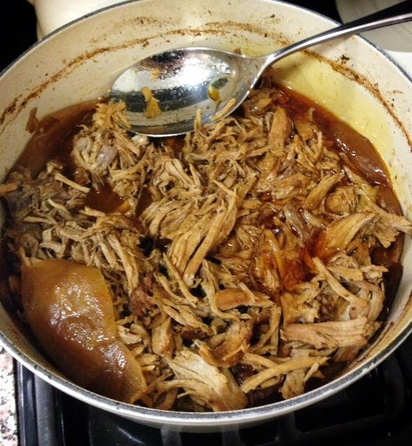 Virginia Thyme in a Manhattan Kitchen: Spicy Dr. Pepper Pulled Pork