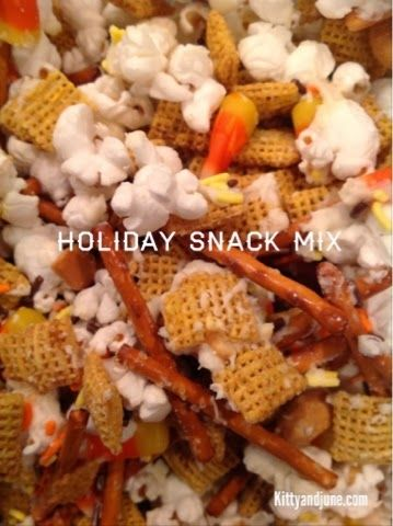 Holiday Snack Mix | cooking | Pinterest