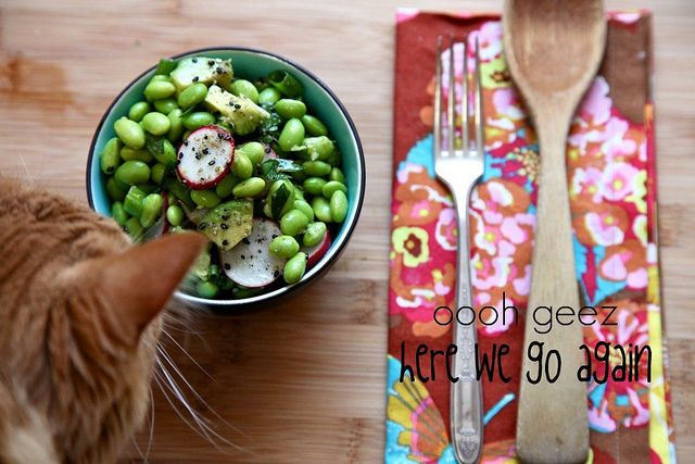 Avocado and Edamame Salad | Food Inspirations | Pinterest