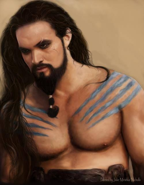 game of thrones khal drogo and daenerys