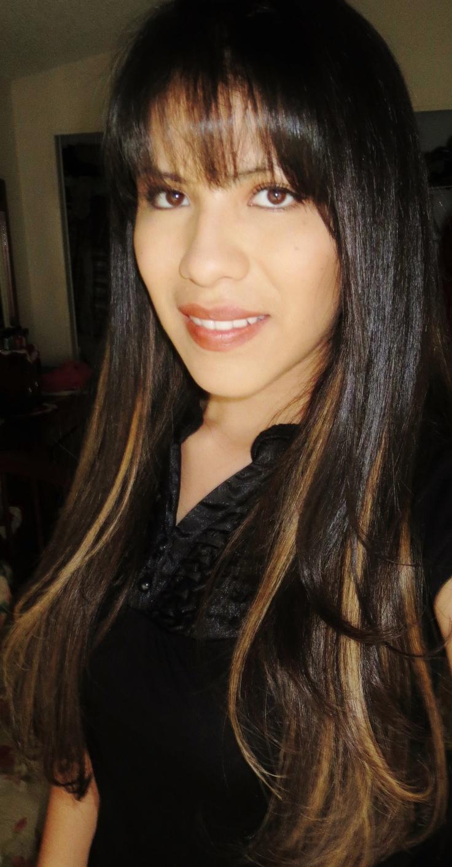 Dark Brown Hair With Blonde Peekaboo Highlights Peekaboo highlights ...