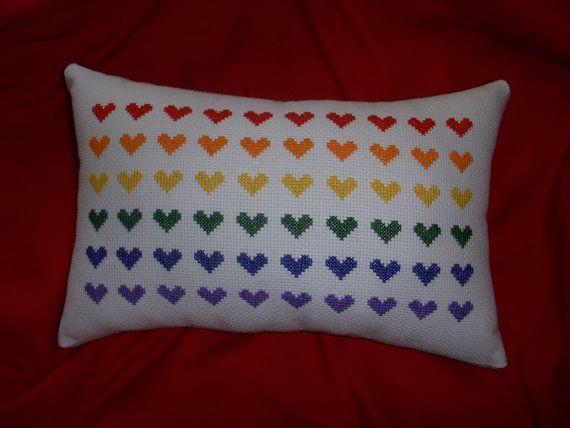 Jack and Celeste, pride pillow