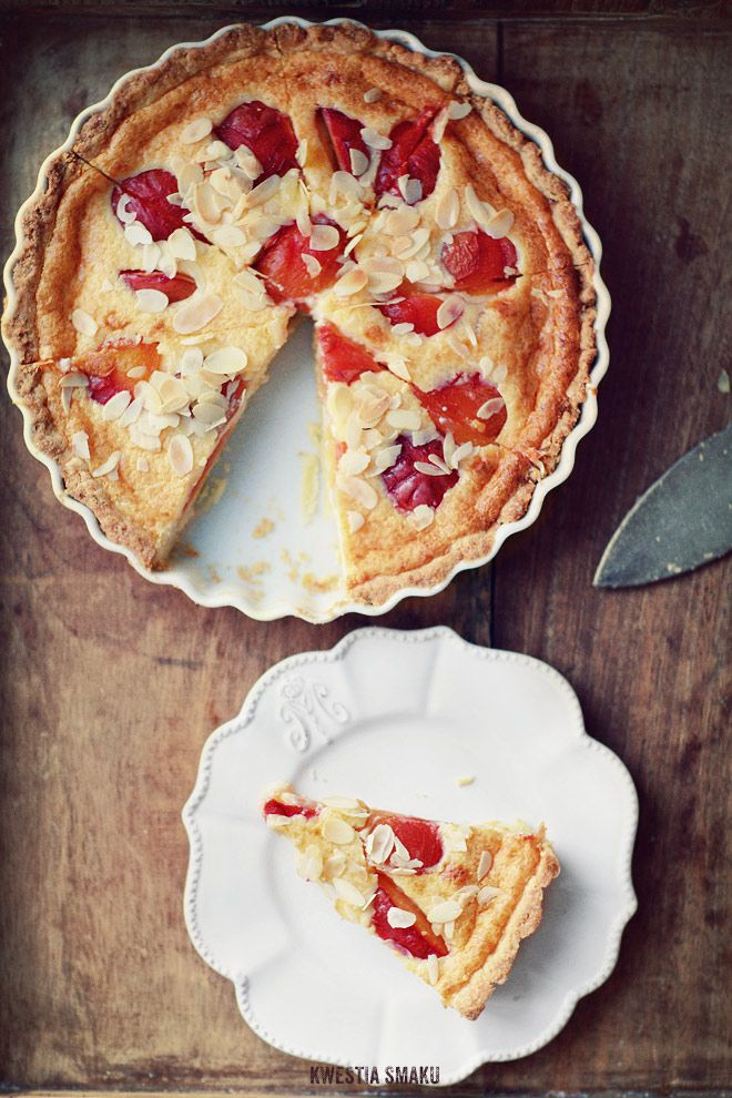 Plum tart | Pies, tartes, galettes | Pinterest