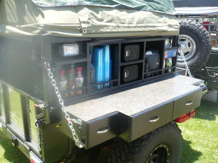 Creative Even Further Outofthebox, Truck Campers Are Sometimes Mounted On Trailers  Were Always Brainstorming New Storage Ideas On The Gooseneck Part Of The