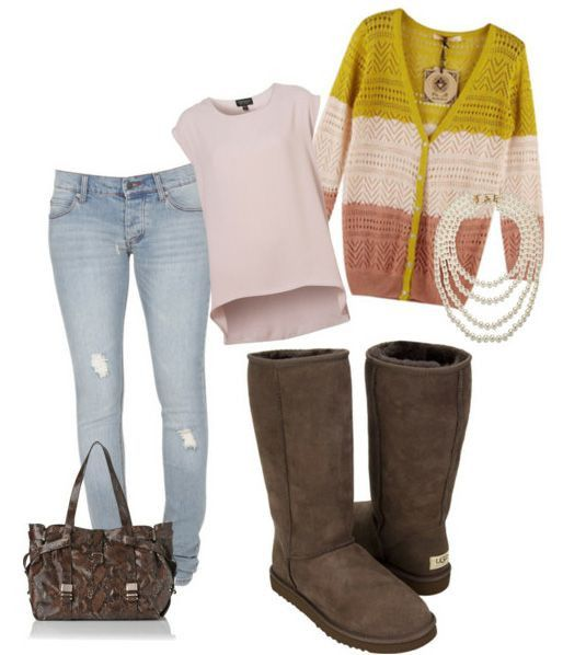 Brown Uggs Outfit