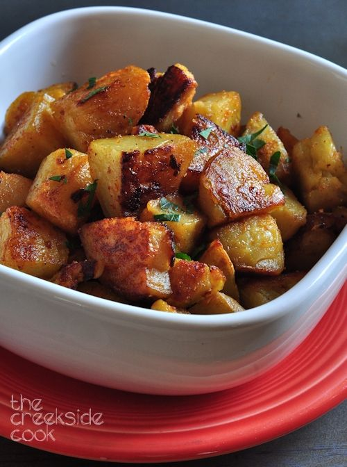 Twice Baked Oven Home Fries | The Creekside Cook