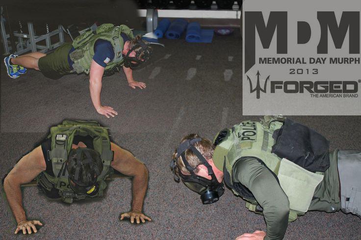 training for memorial day murph