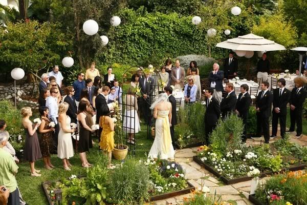 Ideas for a backyard wedding