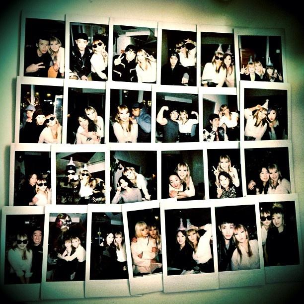 Memories chaelincl cl 2ne1 instagram updates happy bday baddest