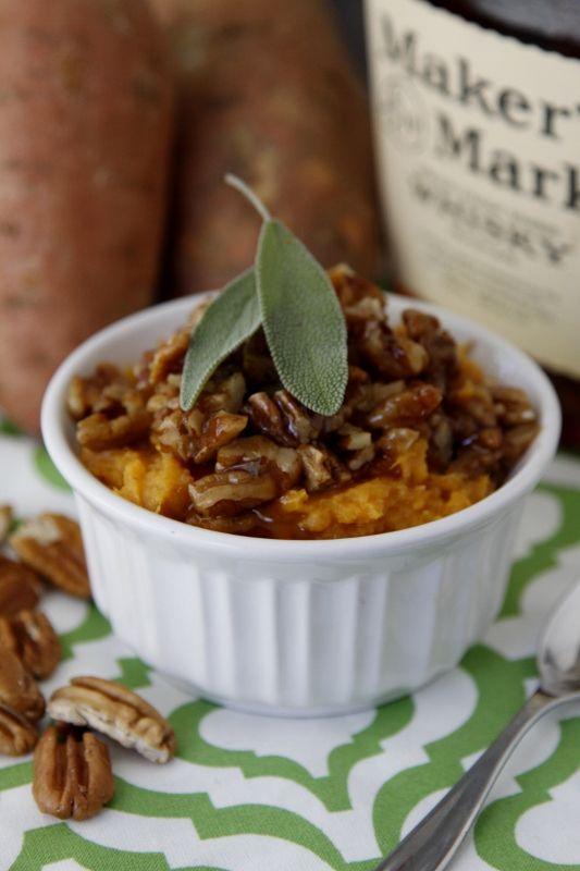 Boozy Smashed Sweet Potatoes - Vegan (with Earth Balance)
