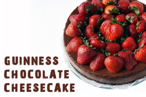 guinness chocolate cheescake | Feed Me | Pinterest