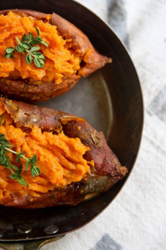 Sweet Potato Puree With Caramelized Marshmallow Recipes — Dishmaps