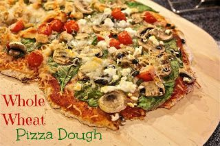 Grilled Pizza with Fontina and Arugula I got this recipe at http://www ...