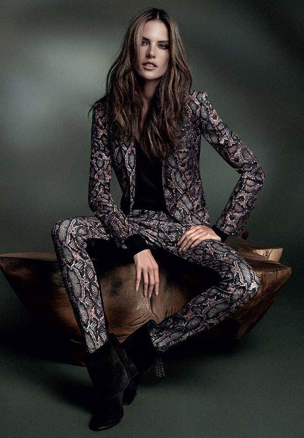 Alessandra Ambrosio Wows in Bobstore Fall 2014 Campaign