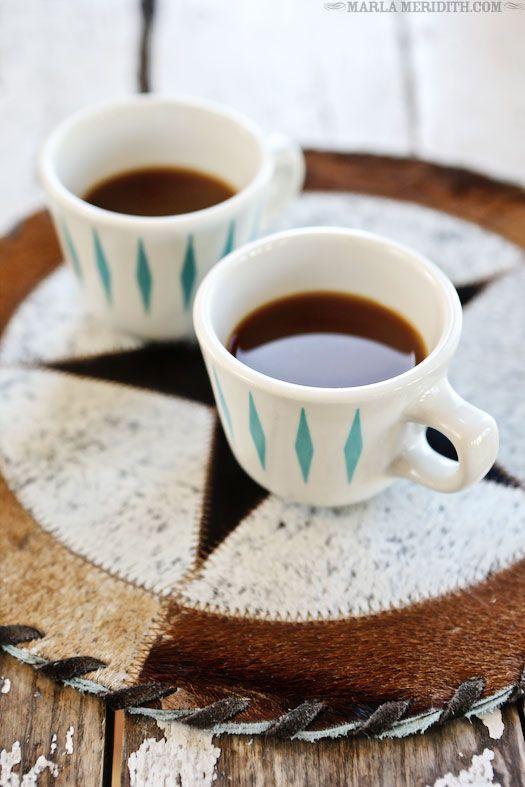 Coffee Break | FamilyFreshCooking.com pretty coffee mugs