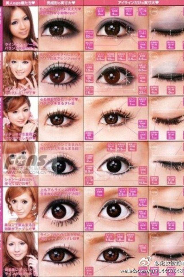 Japanese makeup style : Style : Pinterest