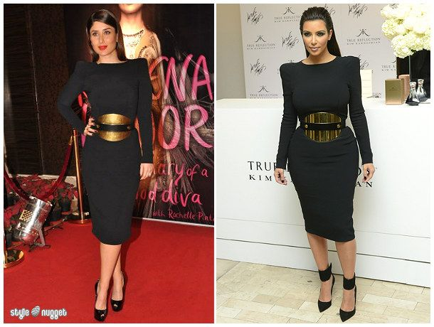 Who Wore It Better? Tom Ford Black Dress With Structured Shoulders