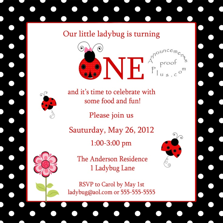 jpeg ladybug first birthday invitation 1000 x 666 273 kb jpeg ladybug ...