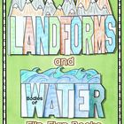 Get your students ready to try something New, Different, and FUN!    These Landforms and Bodies of Water Flip-Flap Books allow your students to show ...