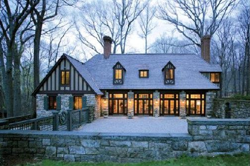 5 enchanting tudor revival homes dream home pinterest for Tudor style house for sale