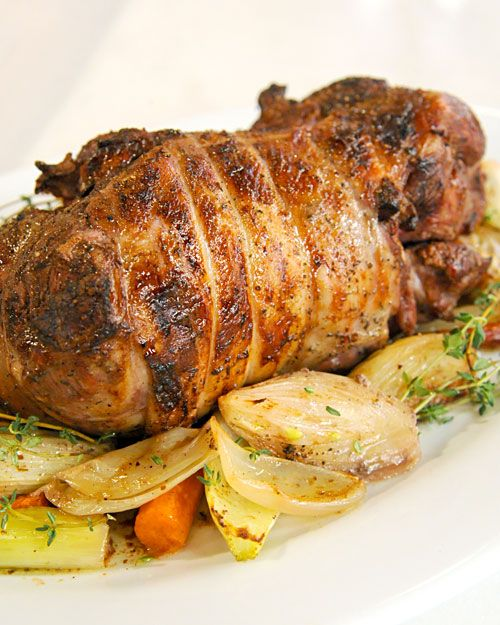 Roast Leg of Lamb on Martha Stewart - Treat Easter guests to an ...