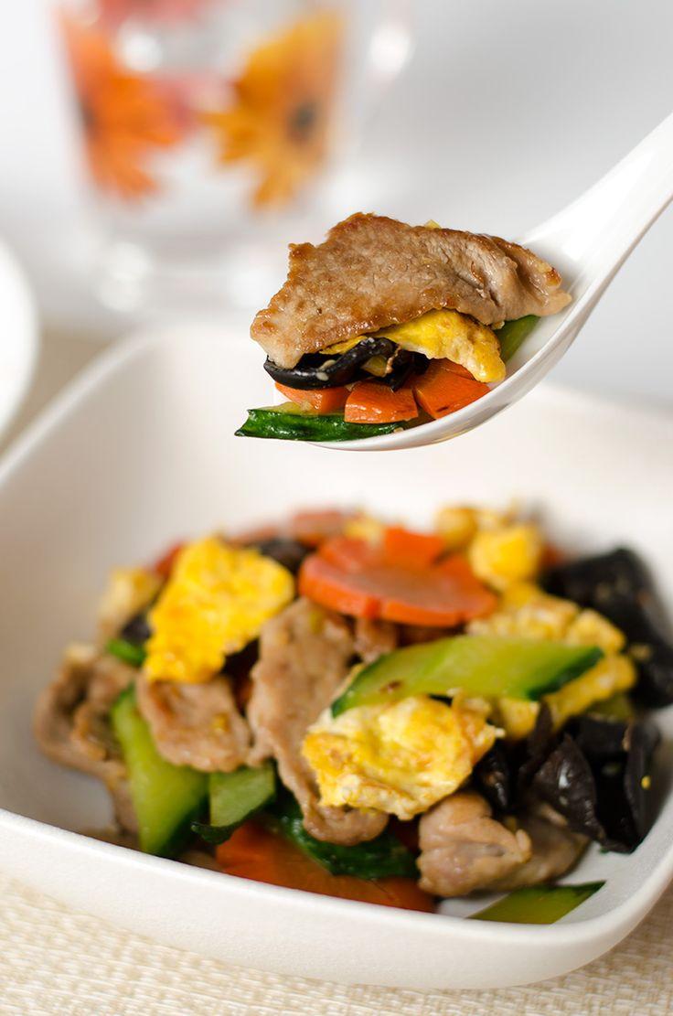 Moo Shu Pork (木须肉) - Omnivore's Cookbook