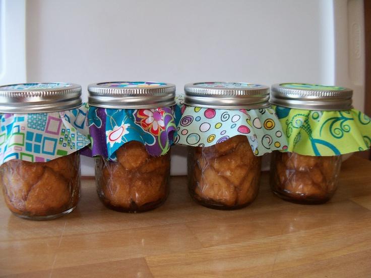 Monkey bread in a jar. | ~Breads in a jar~ | Pinterest