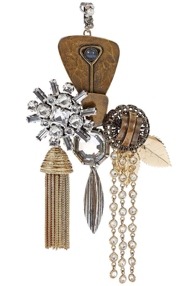 Fall Bohemian Accessories, Celine single earring. Image via Harper's BAZAAR