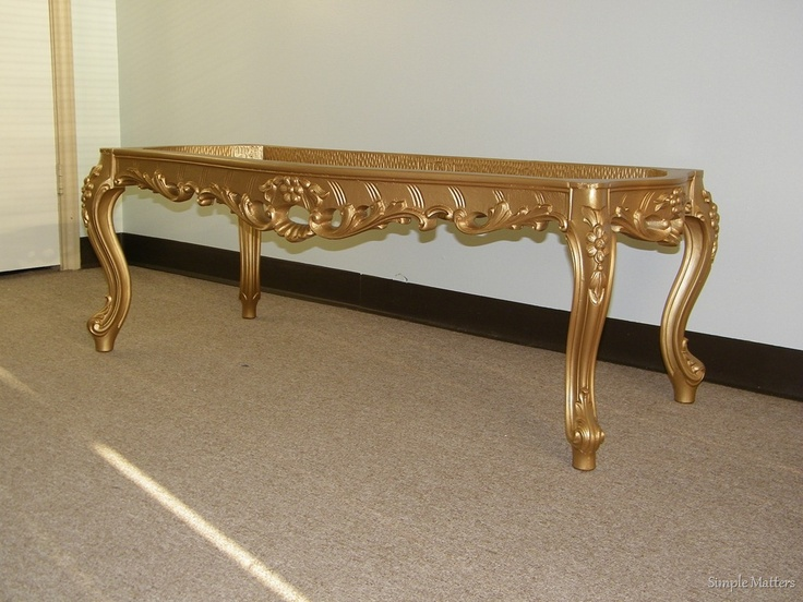 Gold Ornate Coffee Table Base Tables Pinterest